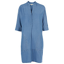 Buy Whistles Denim Lulu Chambray Dress, Blue Online at johnlewis.com