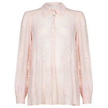 Buy Ghost Clara Blouse, Nude Online at johnlewis.com
