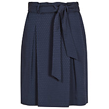 Buy Reiss Hackney Paperbag Waist Skirt, Slate Online at johnlewis.com