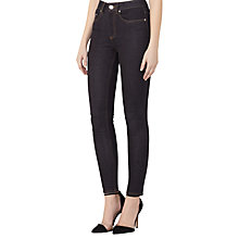 Buy Reiss Helvin High Rise Skinny Jeans, Dark Indigo Online at johnlewis.com