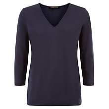 Buy Jaeger Jersey V-Neck Top Online at johnlewis.com