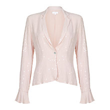 Buy Ghost Carla Jacket, Nude Online at johnlewis.com