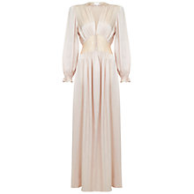 Buy Ghost Farah Dress, Nude Online at johnlewis.com