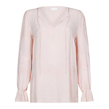 Buy Ghost Alisha Blouse, Nude Online at johnlewis.com