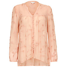Buy Ghost Connie Top, Pink Sand Online at johnlewis.com