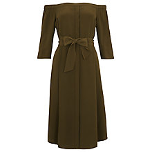 Buy Whistles Flavia Bardot Silk Dress Online at johnlewis.com