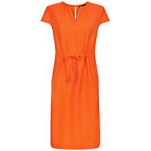 Buy Jaeger Linen Drawstring Waist Dress Online at johnlewis.com
