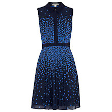 Buy Whistles Star Print Shirt Dress, Blue/Multi Online at johnlewis.com