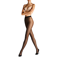 Buy Wolford 20 Denier Nola Square Spots Tights, Black Online at johnlewis.com