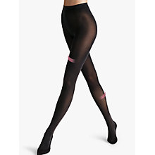 Buy Wolford 50 Denier Individual Leg Support Opaque Tights, Black Online at johnlewis.com