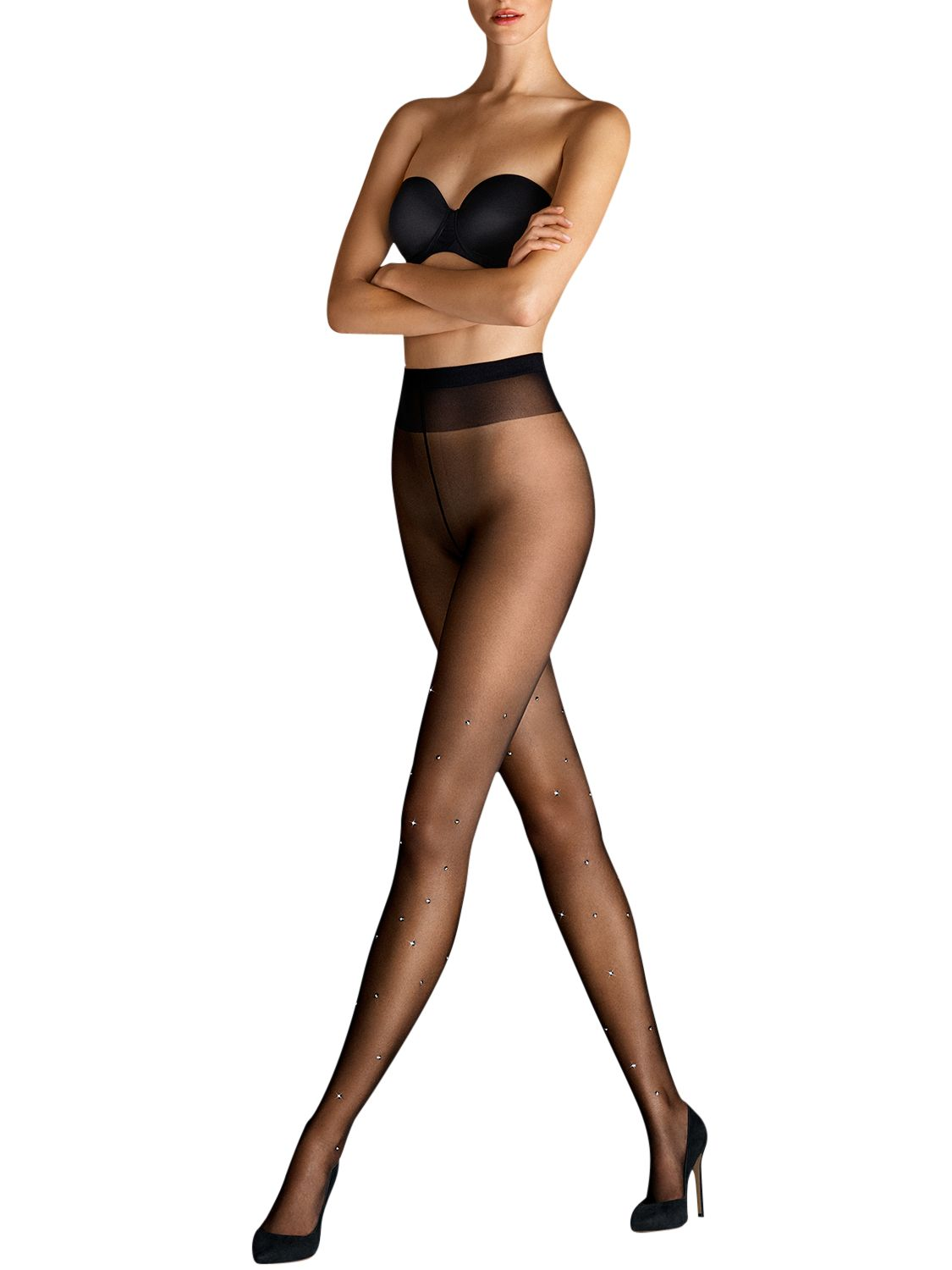 Wolford Wolford Sparkle Tights, Black