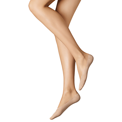 Wolford Cotton Blend Footsie Socks