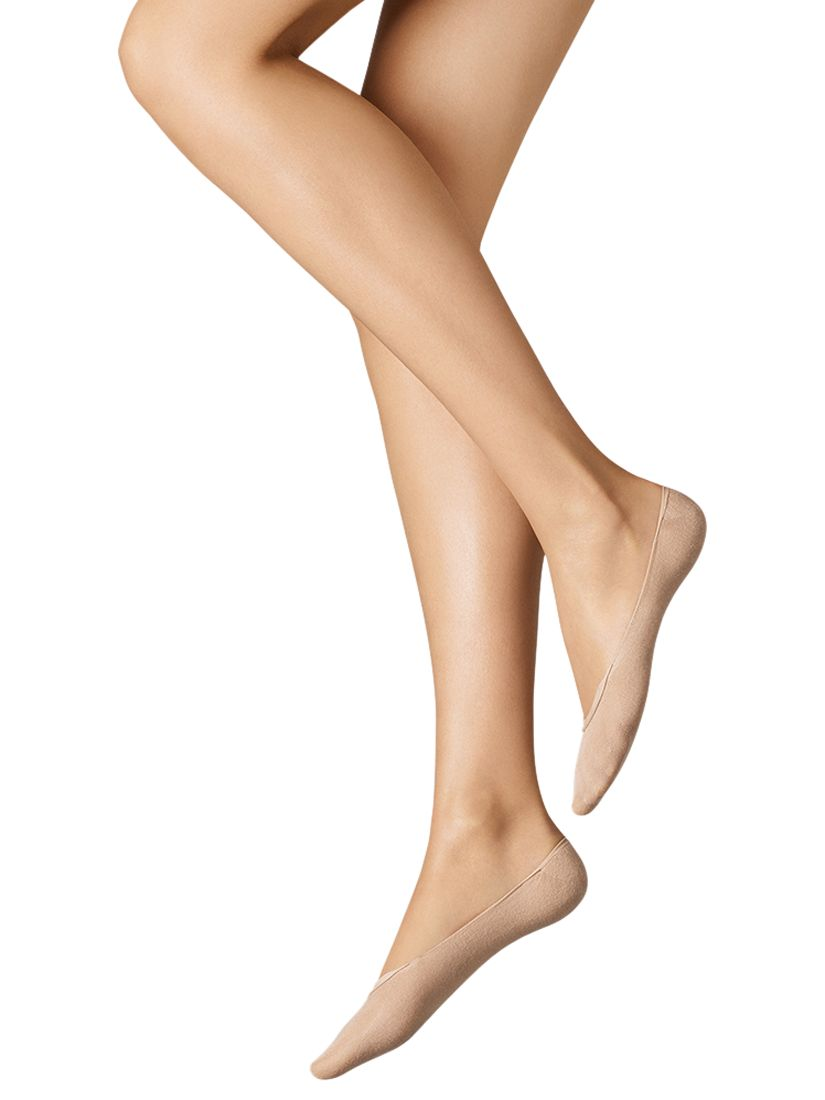 Wolford Wolford Cotton Blend Footsie Socks