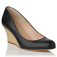 Buy L.K. Bennett Zella Wedge Heel Court Shoes Online at johnlewis.com
