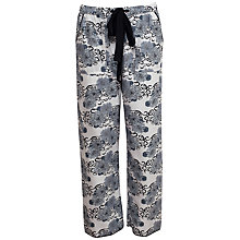 Buy Cyberjammies Timeless Elegance Floral Print Pyjama Bottoms, White/Multi Online at johnlewis.com