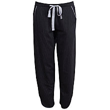 Buy Cyberjammies Timeless Elegance Stripe Pyjama Bottoms, Black/White Online at johnlewis.com
