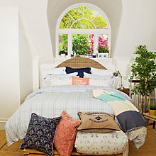 Buy Lexington Poplin Check Bedding Online at johnlewis.com