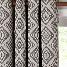 Buy John Lewis Native Weave Lined Eyelet Curtains Online at johnlewis.com