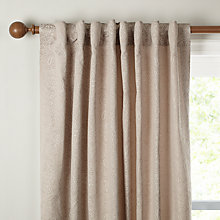 Buy John Lewis Paisley Floral Lined Hidden Tab Curtains Online at johnlewis.com
