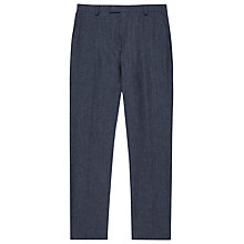 Buy Reiss Geronimo Slim Fit Cotton Suit Trousers, Blue Online at johnlewis.com