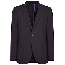 Buy Jaeger Silk Linen Modern Suit Jacket, Navy Online at johnlewis.com