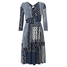 Buy East Marrakesh Dress, Indigo Online at johnlewis.com