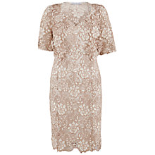 Buy Gina Bacconi Guipure Lace Dress And Jacket, Cookies Cream Online at johnlewis.com