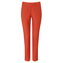 Buy East Capri Trousers, Orange Online at johnlewis.com