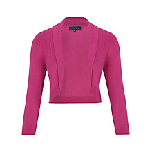 Buy Viyella Collar Shrug, Magenta Online at johnlewis.com