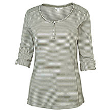 Buy Fat Face Soulby Stripe Henley T-Shirt Online at johnlewis.com