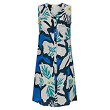 Buy East Dara Print Tunic, Kingfisher Online at johnlewis.com