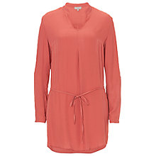 Buy Betty & Co. Long Tunic Top, Raspberry Red Online at johnlewis.com