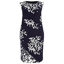Buy Studio 8 Leah Spot Print Dress, Navy/Ivory Online at johnlewis.com
