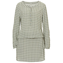 Buy Betty & Co. Drop Waist Print Dress, Reed/Nature Online at johnlewis.com