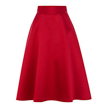 Buy Coast Coro A-Line Skirt, Raspberry Online at johnlewis.com