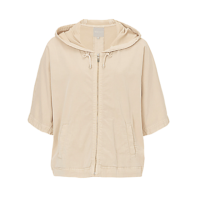 Betty & Co. Batwing Hooded Jacket, Silky Beige