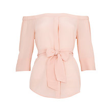 Buy Whistles Flavia Bardot Silk Top Online at johnlewis.com