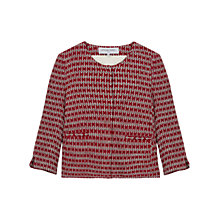 Buy Gerard Darel Cabochon Jacket, Red Online at johnlewis.com