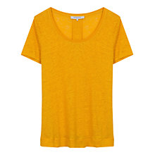 Buy Gerard Darel Craig Linen T-Shirt Online at johnlewis.com