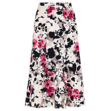 Buy Viyella Floral Print Skirt, Pink Online at johnlewis.com