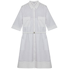 Buy Gerard Darel Camus Dress, White Online at johnlewis.com