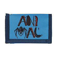 Buy Animal Children's Barrt Spidey Print Wallet, Blue Online at johnlewis.com