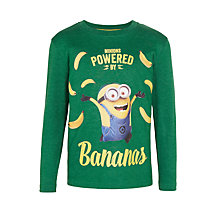 Buy Minions Boys' Banana T-Shirt, Green Online at johnlewis.com