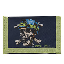 Buy Animal Children's Barrt Skull Print Wallet, Navy Online at johnlewis.com