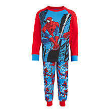 Buy Spiderman Children's Pyjamas, Blue Online at johnlewis.com
