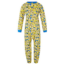 Buy John Lewis Boys' Minions Onsie, Yellow Online at johnlewis.com