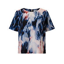 Buy John Lewis Capsule Collection Onyx Print Blouse, Multi Online at johnlewis.com