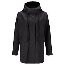 Buy Kin by John Lewis Lightweight Parka Jacket, Black Online at johnlewis.com
