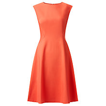 Buy John Lewis Beau Fit And Flare Dress, Cayenne Online at johnlewis.com