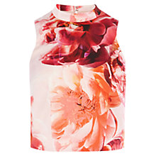 Buy Coast Geraldine Print Top, Multi Online at johnlewis.com
